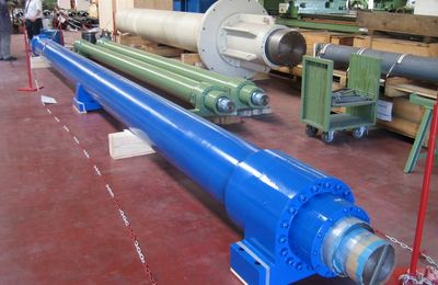 Hydraulic Cylinders for Steel works